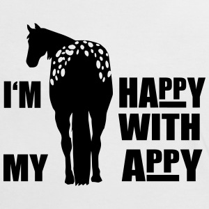 Happy with my Appaloosa Tee shirts - T-shirt contraste Femme