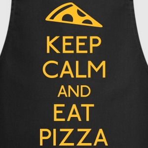 Keep Calm Pizza garder calme pizza Tabliers - Tablier de cuisine