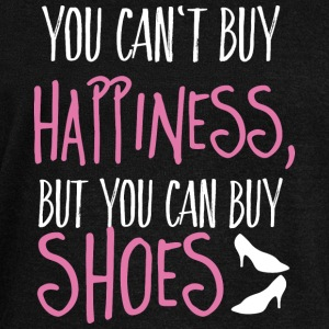 Cant buy happiness, but shoes Pullover & Hoodies - Frauen Pullover mit U-Boot-Ausschnitt von Bella