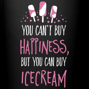 Cant buy happiness, but ice cream Bouteilles et Tasses - Tasse en couleur