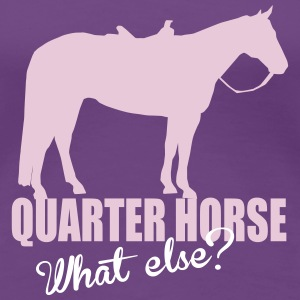 Quarter Horse -- What else? T-Shirts - Women's Premium T-Shirt
