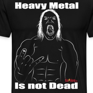 heavy metal is not dead - T-shirt Premium Homme