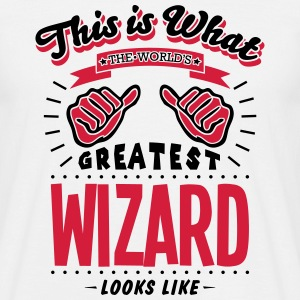wizard worlds greatest looks like - Men's T-Shirt