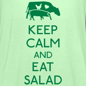 Keep Calm eat salad Tops - Frauen Tank Top von Bella