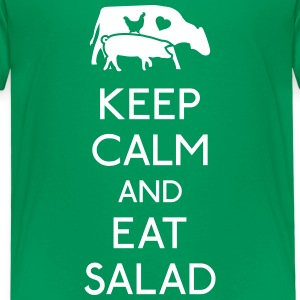 Keep Calm eat salad Shirts - Kids' Premium T-Shirt