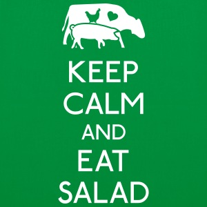 Keep Calm eat salad Bags & Backpacks - Tote Bag