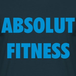 absolut fitness T-Shirts - Männer T-Shirt