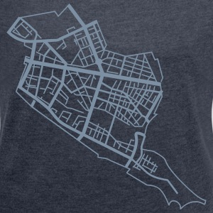 Friedrichshain Berlin T-Shirts - Women's T-shirt with rolled up sleeves