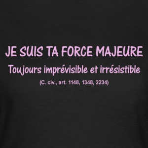 Force majeure - T-shirt Femme