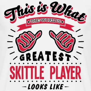 skittle player worlds greatest looks lik - Men's T-Shirt