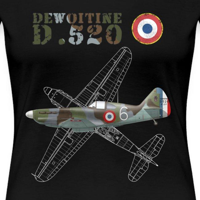 Dewoitine D.520 Woman's T-shirt