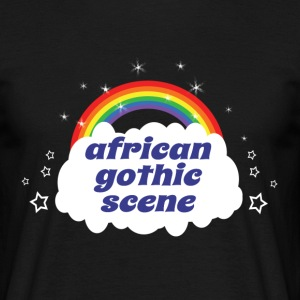 african gothic scene T-Shirts - Men's T-Shirt