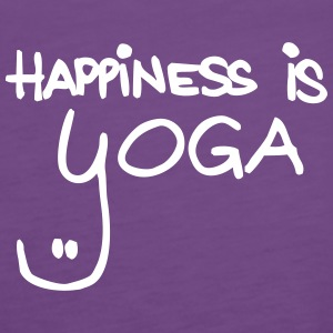 happiness is yoga - Frauen Premium Tank Top