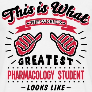pharmacology student worlds greatest loo - Men's T-Shirt