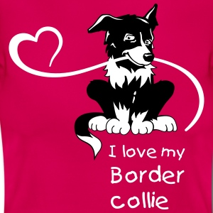 BorderCollie Love - Frauen T-Shirt