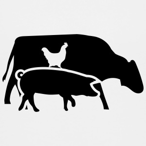 Cow, pig and cock Shirts - Kids' Premium T-Shirt