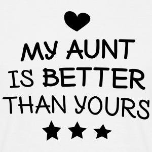 My Aunt min tante T-shirts - Herre-T-shirt