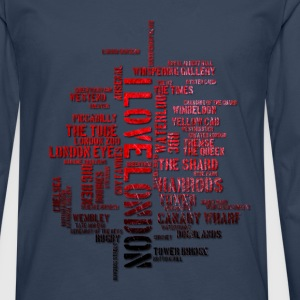 I love London - Männer Premium Langarmshirt