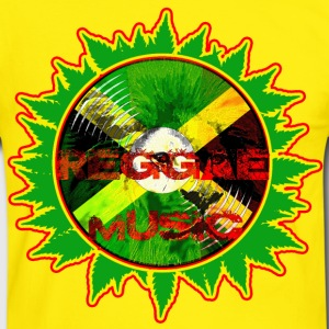 reggae music Tee shirts - T-shirt contraste Homme