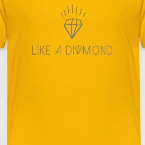 Like a diamond Shirts - Kinderen Premium T-shirt