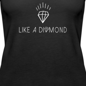 Like a diamond  Top - Canotta premium da donna
