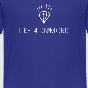 Like a diamond  T-Shirts - Teenager Premium T-Shirt