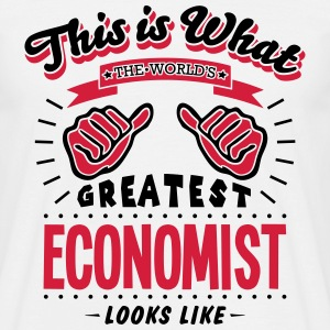economist worlds greatest looks like - Men's T-Shirt