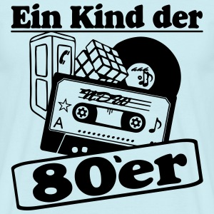 Ein Kind der 80er / Party Fun 80er Party - Männer T-Shirt