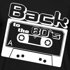 80er, Back to - Männer T-Shirt