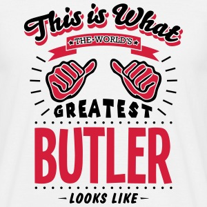 butler worlds greatest looks like - Men's T-Shirt