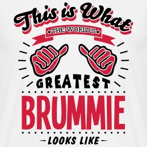 brummie worlds greatest looks like - Men's T-Shirt