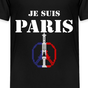 Je Suis Paris Shirts - Teenage Premium T-Shirt