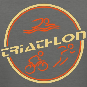 Triathlon Retro - Männer Slim Fit T-Shirt