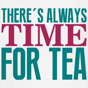 There's always time for tea Tee shirts manches longues Bébés - T-shirt manches longues Bébé