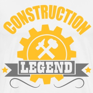 handy man: construction legend T-shirts - Premium-T-shirt herr