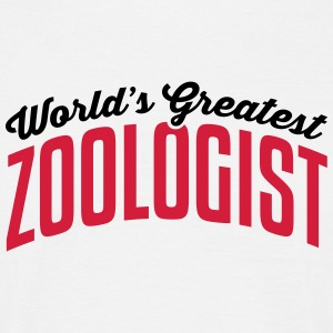 worlds greatest zoologist 2col copy - Men's T-Shirt