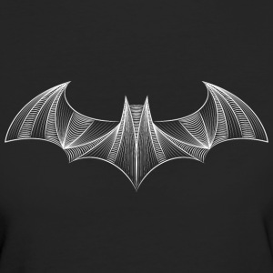 Batman Logo 'Drawing' Frauen T-Shirt - Frauen Bio-T-Shirt