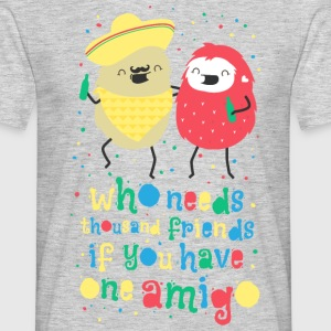 Amigos - best friends amigos - bedste venner T-shirts - Herre-T-shirt