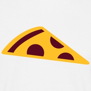 Pizza slice T-shirts - Mannen T-shirt