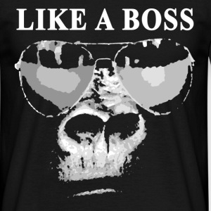 Gorilla like a Boss - Männer T-Shirt
