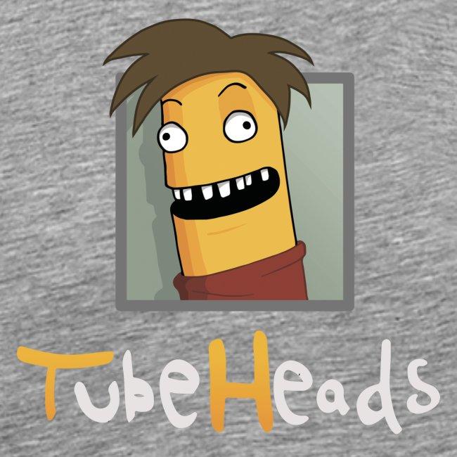 Edel-T-Shirt mit TubeHeads Logo bis 5XL