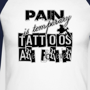 PAIN FOREVER Long sleeve shirts - Men's Long Sleeve Baseball T-Shirt