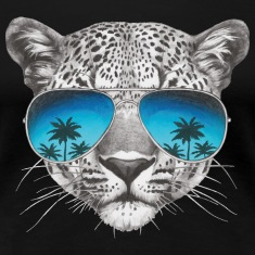 Animal Planet Frauen T-Shirt Leopard