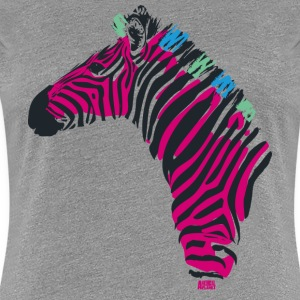 Animal Planet Women T-Shirt Zebra - Women's Premium T-Shirt