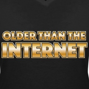 Older than the internet T-Shirts - Women's V-Neck T-Shirt