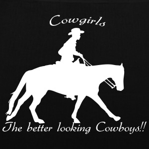 Cowgirls The better looking Cowboys Sacs et sacs à dos - Tote Bag