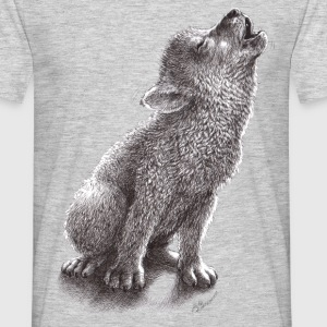 lobo - howling wolf - Camiseta hombre