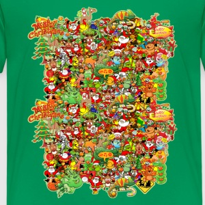 In Christmas Melt into the Crowd and Enjoy Shirts - Kids' Premium T-Shirt