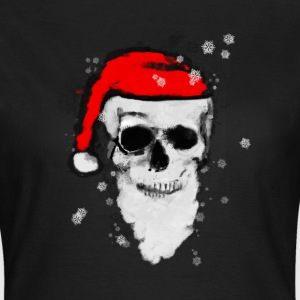 Skull Artwork - Santa Claus. T-skjorter - T-skjorte for kvinner