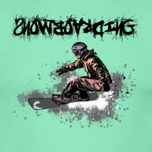 snowboarding Tee shirts - T-shirt Homme